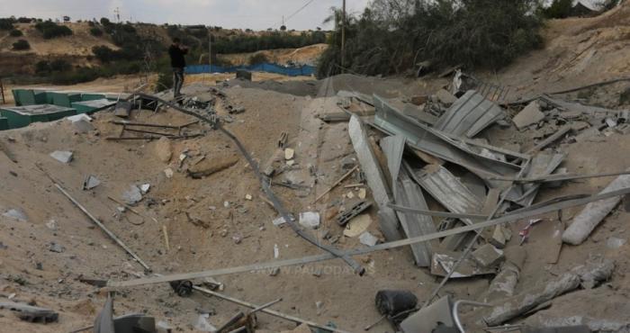 خرقاً للتهدئة:مدفعية الاحتلال تستهدف أراضي ومرصد للمقاومة شرق غزة