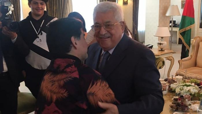 بالفيديو.. مارادونا أنا فلسطيني
