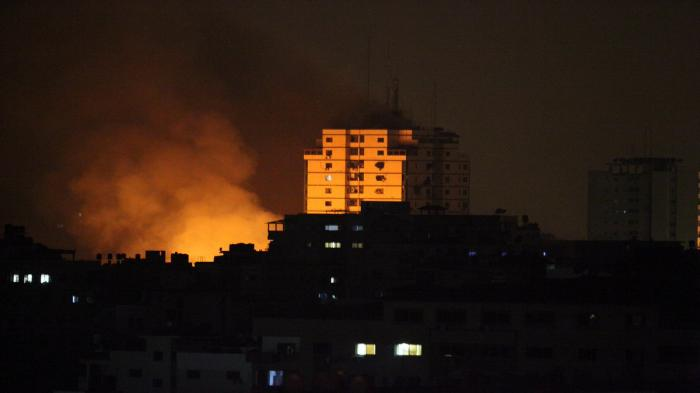 سلسلة غارات إسرائيلية جديدة على قطاع غزة