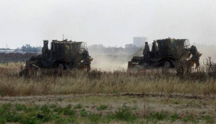 توغل اسرائيلي على الحدود الشرقية لقطاع غزة