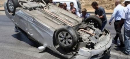 وفاة و3 اصابات اثر حادث سير على جسر النعيمة باربد