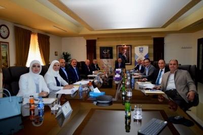 تشكيلات أكاديمية في جامعة عمان الأهلية