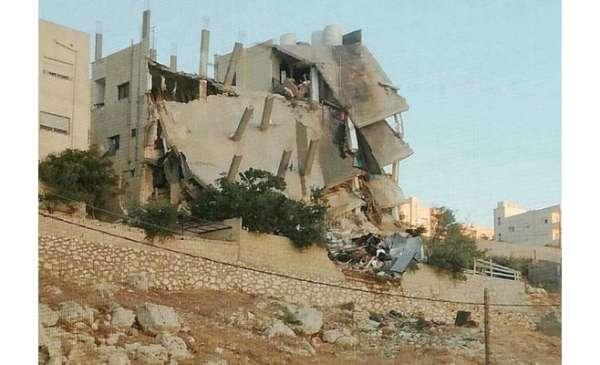 العمارة استأجرها الإرهابيون قبل فترة وجيزة من العمل الارهابي بالفحيص