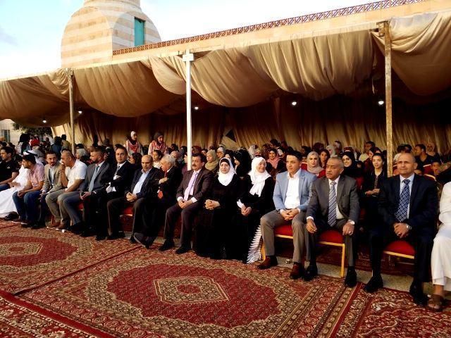 جامعة عمان الأهلية ترعى وقفة على أرواح شهداء الواجب في السلط