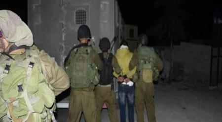 حملة اعتقالات في الضفة الغربية المحتلة