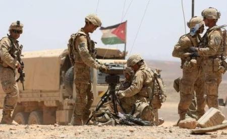 تدريبات أميركية نادرة على حدود الأردن