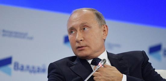 تصريح غريب لبوتين : الروس شهداء ومكانهم الجنة