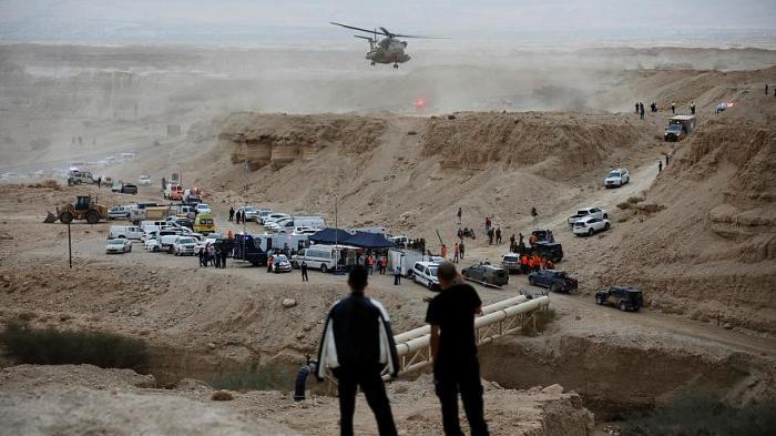 اسرائيل ترسل طائرات هليكوبتر للبحث والانقاذ بطلب من عمان