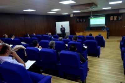 ورشة عمل في جامعة عمان الأهلية بعنوان :كيفية صياغة وإعداد مخرجات التعلم
