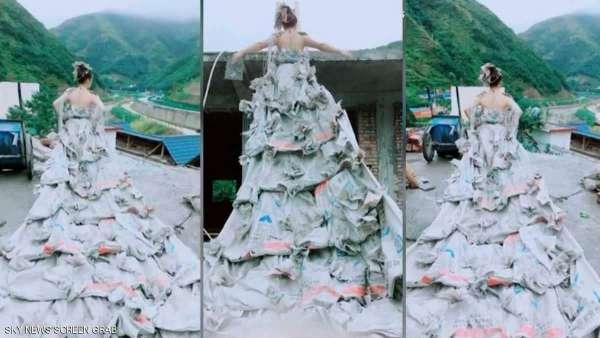 فستان زفاف لن ترتديه أي عروس
