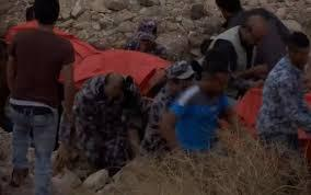 وصول جثمان الضحية 21 في حادثة البحر الميت إلى مركز الطب الشرعي