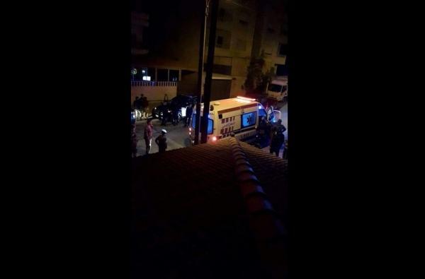 ابو نصير...شاب قتل والده ثم رمى نفسه من الطابق الثالث