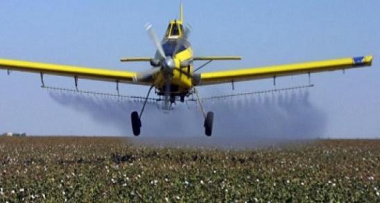 فقدان طائرة شراعية لرش المبيدات بالأردن