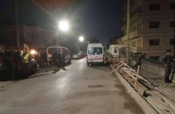 الدفاع المدني يخلي سكان عمارة تصدّعت بضاحية الرشيد