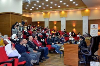 ندوة طلابية في جامعة عمان الأهلية حول فاجعة البحر الميت
