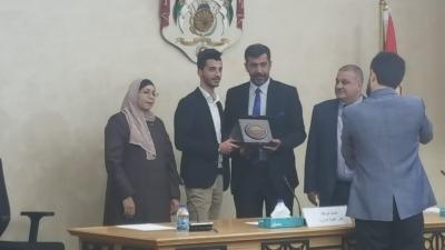 مجلس النواب / اللجنة الإدارية تكرم طلبة النظم الحديثة المتميزين