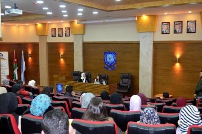 علم النفس والتربية الخاصة بجامعة عمان الاهلية يستضيفان مؤسسة مبادرة رنين