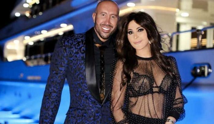 اليسا تظهر بحمالة الصدر وقميص شفاف في حفل Givenchy ومتابعوها يتهموها بالتعري!