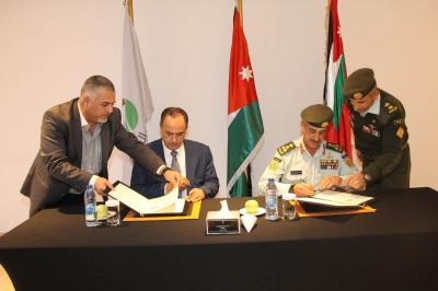 اتفاقية بين شركة البوتاس العربية والقوات المسلحة الاردنية