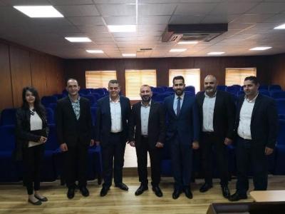 محاضرة في جامعة عمان الأهلية حول آليات ردم الفجوة