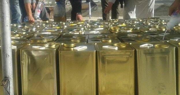ضبط كميات كبيرة من زيت الزيتون المغشوش في العقبة