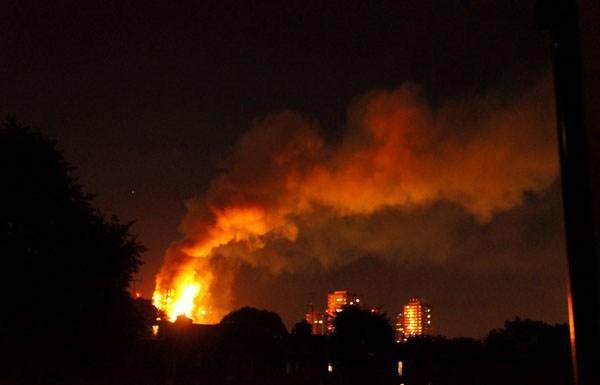 5 إصابات بحريق منزل في اربد