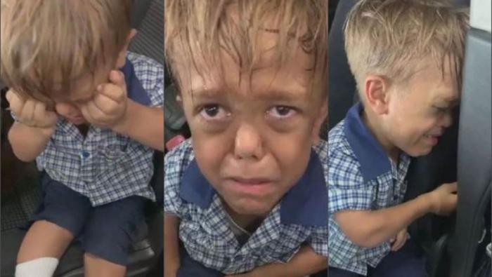 قصة طفل تمنى الموت فقرر الملايين منحه قبلة الحياة