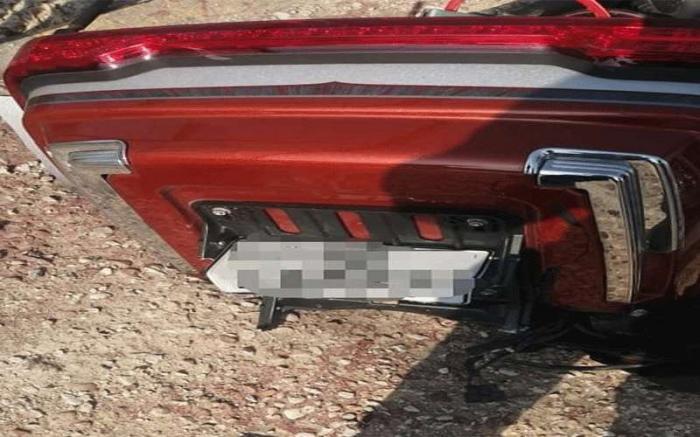 إصابة سائق دراجة بحادث على طريق البحر الميت