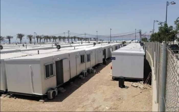 الجيش: منطقة العزل في البحر الميت أصبحت مستشفى ميدان