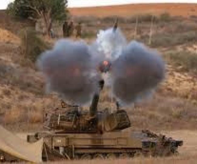 مدفعية الاحتلال تقصف أهدافاً للمقاومة في غزة