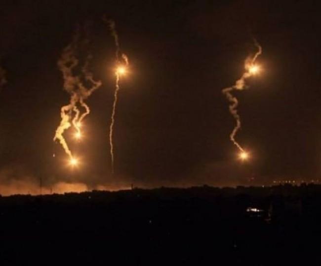 مدفعية الاحتلال تطلق