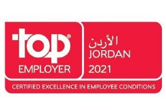 أورانج الأردن تحصل على شهادة أفضل صاحب عمل