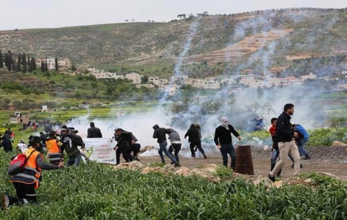 جنوب جنين:  إصابة عامل برصاص الاحتلال