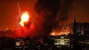 طائرات حربية صهيونية تشن غارات على قطاع غزة
