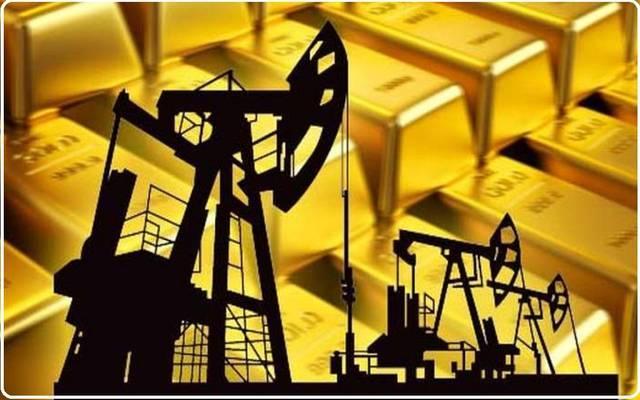 ارتفاع أسعار النفط وتراجع اسعار الذهب عالميا