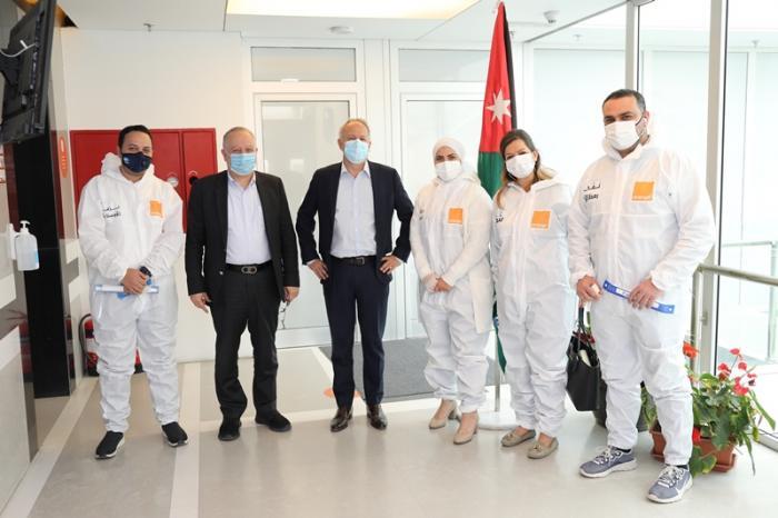 أورنج الأردن تكرّم الكوادر الطبية في المستشفيات الميدانية