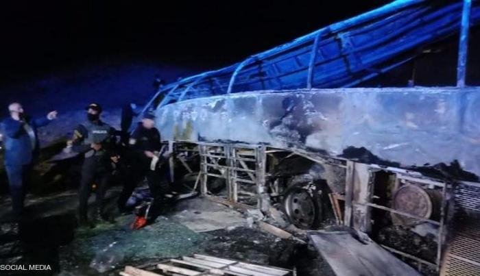مقتل 20 شخصا بحادث سير مروع في مصر