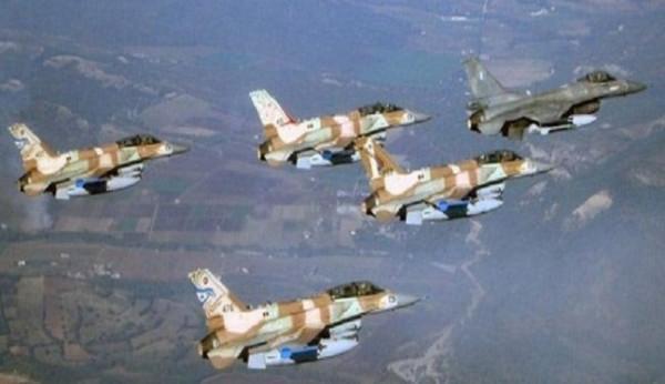 طائرات اسرائيلية في سماء بيروت دون اي تدخل لبناني