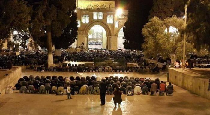 الاحتلال يعطل مآذن الأقصى باول ايام رمضان