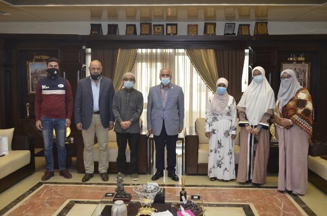 عمان الأهلية تكرم الفائزين بجائزة الحوراني لتلاوة القرآن