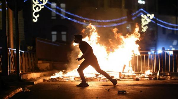 اصابات بمواجهات مع الاحتلال بالعيسوية والطور في القدس