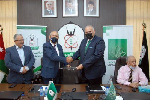 بنك القاهرة عمان يجدد اتفاقية اصدار البطاقات الجامعية الذكية