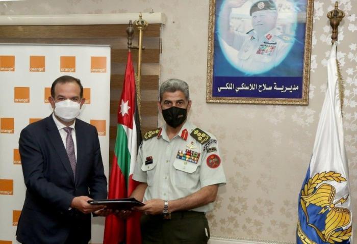 تجديد اتفاقية الخطوط الأرضية بين القوات المسلحة وأورنج الأردن