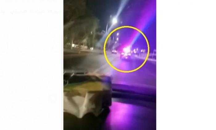 """مواطنون يشتكون من قوة أشعة أضوية """" لوّاحات"""" مركبات دوريات الشرطة"""