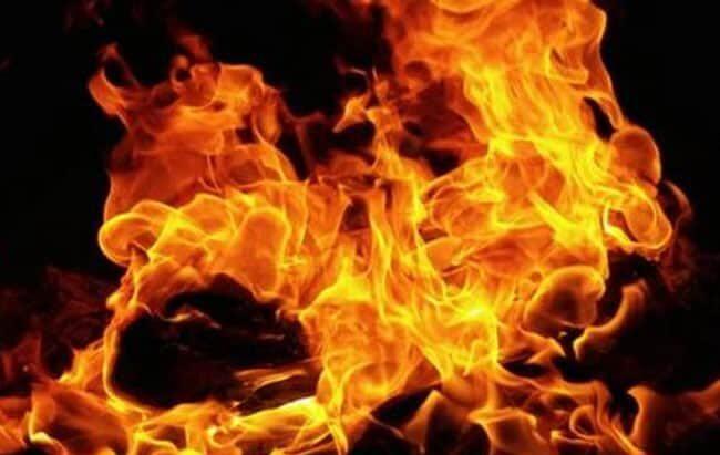 حريق في مستشفى السلط الحكومي