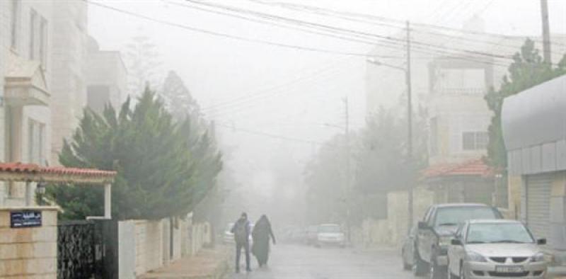 موجة سيبيرية شديدة البرودة تؤثر تضرب الأردن