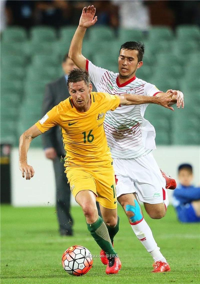 أستراليا تسحق طاجيكستان في التصفيات المزدوجة