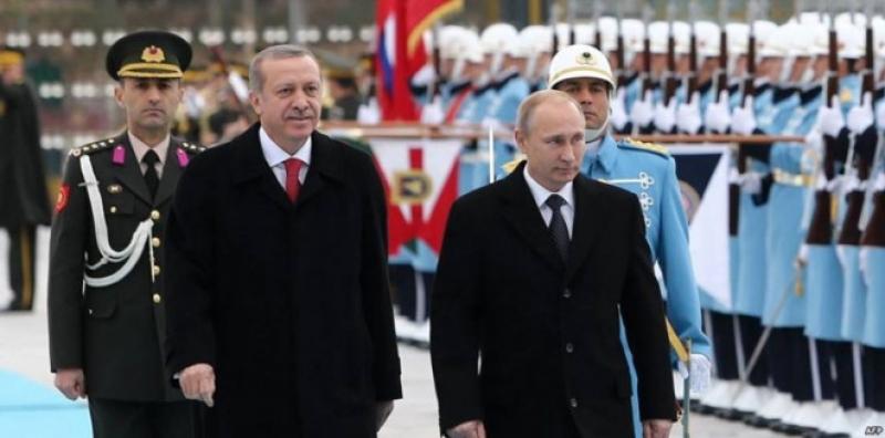 أردوغان يلهث وراء مصادر طاقة بديلة بعد العقوبات الروسية