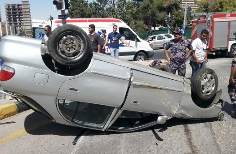 المهاجرين: وفاة 3 عراقيين بحادث تدهور