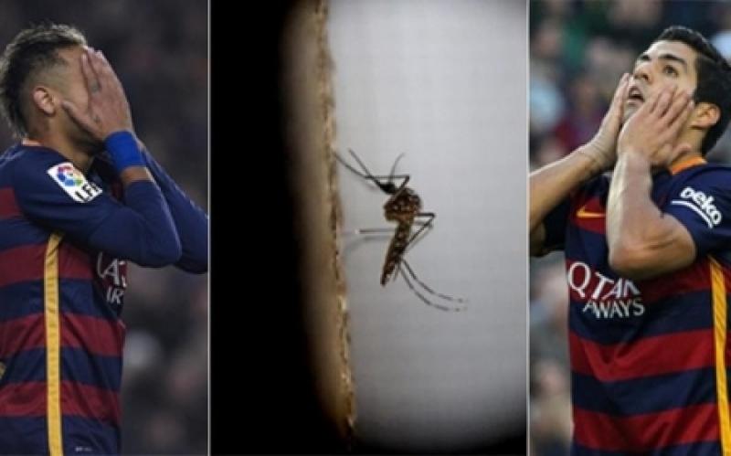 نجوم برشلونة بخطر كبير بسبب فيروس زيكا